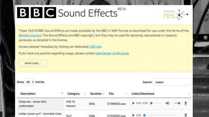 BBC-Sound-Effects