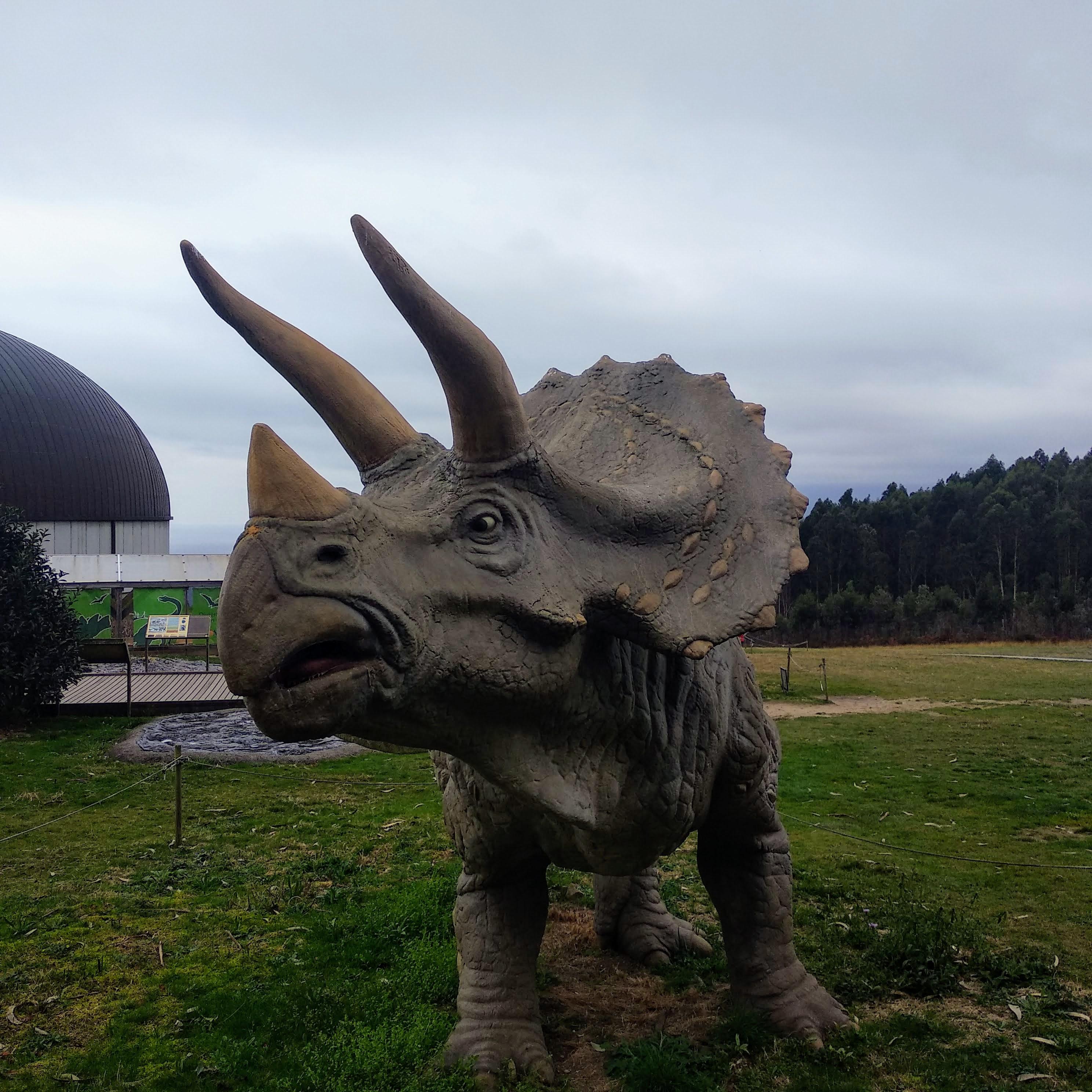 El triceratops del MUJA